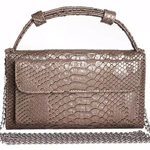 Clutch leather purse